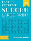 Easy to Extreme Sudoku Large Print (Blue) : Keeps You Sharp - Book