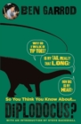 So You Think You Know About Diplodocus? - Book