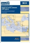 Imray Chart M22 : Egypt to Israel, Lebanon and Cyprus - Book
