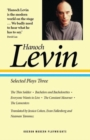 Hanoch Levin: Selected Plays Three - Book