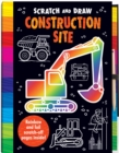 Scratch and Draw Construction Site - Book