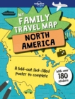 My Family Travel Map - North America - Book