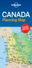 Lonely Planet Canada Planning Map - Book