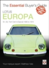 Lotus Europa : S1, S2, Twin-cam & Special 1966 to 1975 - Book