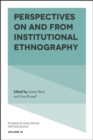 Perspectives on and from Institutional Ethnography - Book