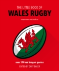 The Little Book of  Wales Rugby - Book