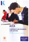 CORPORATE AND BUSINESS LAW (ENG) - Study Text - Book