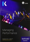 E2 MANAGING PERFORMANCE - EXAM PRACTICE KIT - Book
