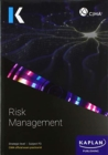 P3 RISK MANAGEMENT - EXAM PRACTICE KIT - Book