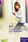 CREDIT MANAGEMENT - STUDY TEXT - Book