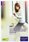 MANAGEMENT ACCOUNTING:BUDGETING - EXAM KIT - Book
