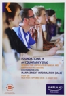 MA1 - MANAGEMENT INFORMATION - STUDY TEXT - Book