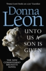 Unto Us a Son Is Given : Shortlisted for the Gold Dagger - Book