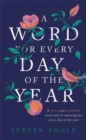 A Word for Every Day of the Year - Book