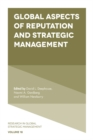Global Aspects of Reputation and Strategic Management - eBook