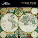Royal Museums Greenwich - Antique Maps Wall Calendar 2020 (Art Calendar) - Book