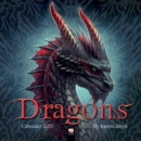 Dragons by Kerem Beyit Wall Calendar 2020 (Art Calendar) - Book