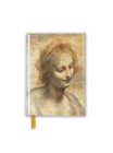 Leonardo Da Vinci: Detail of the Head of the Virgin (Foiled Pocket Journal) - Book