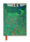 Gustav Klimt: Poppy Field (Foiled Journal) - Book