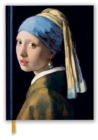 Johannes Vermeer: Girl With a Pearl Earring (Blank Sketch Book) - Book
