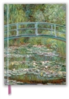 Claude Monet: Bridge over a Pond for Water Lilies (Blank Sketch Book) - Book