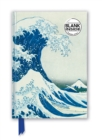 Hokusai: The Great Wave (Foiled Blank Journal) - Book