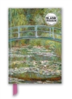 Claude Monet: Bridge over a Pond for Water Lilies (Foiled Blank Journal) - Book