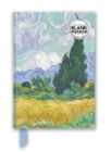 Vincent van Gogh: Wheat Field with Cypresses (Foiled Blank Journal) - Book