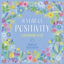 A Year of Positivity by Rebecca McCulloch Wall Calendar 2021 (Art Calendar) - Book