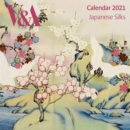 V&A - Japanese Silks Wall Calendar 2021 (Art Calendar) - Book