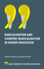 Radicalisation and Counter-Radicalisation in Higher Education - Book