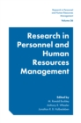 Research in Personnel and Human Resources Management - eBook