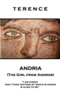 Andria (The Girl from Andros) : 'I am human and I think nothing of which is human is alien to me'' - eBook