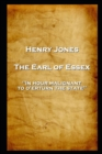 The Earl of Essex : 'In hour malignant, to o'erturn the state'' - eBook