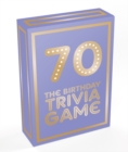 70 : The Birthday Trivia Game - Book