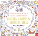 British Museum: The Colouring Book of Cards and Envelopes: Amazing Animals and Beautiful Birds - Book