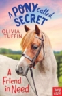 A Pony Called Secret: A Friend In Need - Book