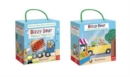 Bizzy Bear Book and Blocks set - Book