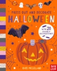 Press Out and Decorate: Halloween - Book
