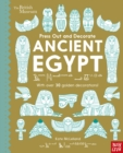 British Museum Press Out and Decorate: Ancient Egypt - Book