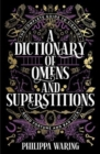 A Dictionary of Omens and Superstitions - Book