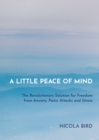 A Little Peace of Mind : The Revolutionary Solution for Freedom from Anxiety, Panic Attacks and Stress - Book