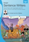 Sentence Writers Teacher Book with Copymasters and CD: Years 3-4 : Activities and Games to Help Children Write Better Sentences - Book