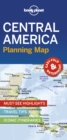 Lonely Planet Central America Planning Map - Book