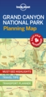 Lonely Planet Grand Canyon National Park Planning Map - Book