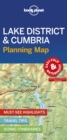 Lonely Planet Lake District & Cumbria Planning Map - Book