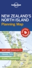 Lonely Planet New Zealand's North Island Planning Map - Book