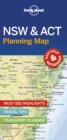 Lonely Planet New South Wales & ACT Planning Map - Book