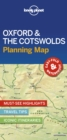 Lonely Planet Oxford & the Cotswolds Planning Map - Book