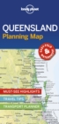 Lonely Planet Queensland Planning Map - Book